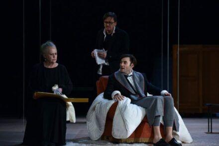 Na fotografiji: Katja Levstik, Branko Šturbej in Branko Jordan Foto: Peter Uhan