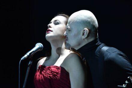 Na fotografiji: Nina Ivanišin in Damir Avdić Foto: Peter Uhan